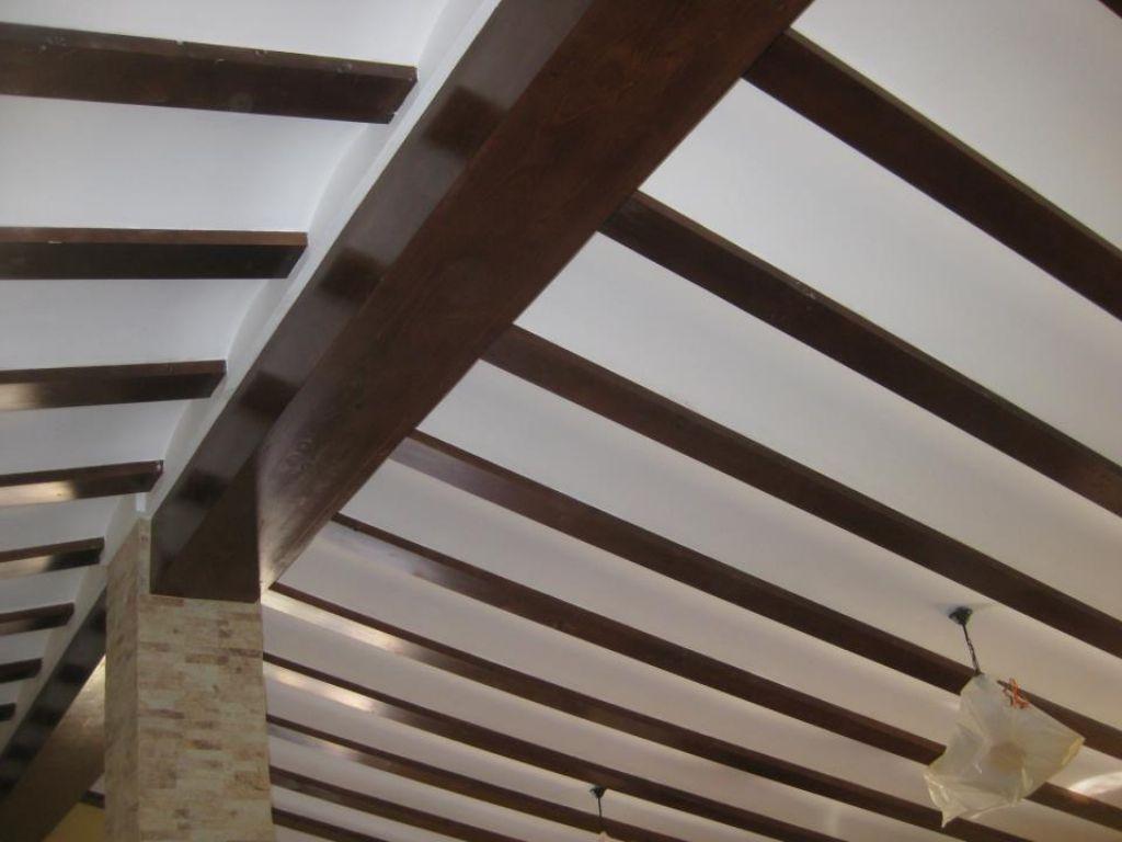techos abuardillado - Bigas De Madera